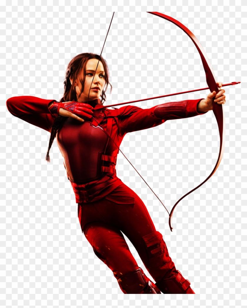 Hunger Games Clip Art Border Cliparts - Katniss Everdeen White Background #280807
