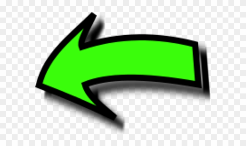 Left Pointing Arrow Clip Art - Left Pointing Arrow Png #280989