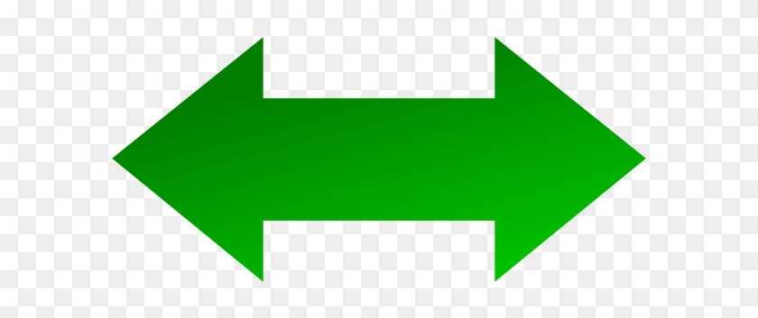 This Free Clip Arts Design Of Left Right Arrow Green - Left Arrow And Right Arrow #281031