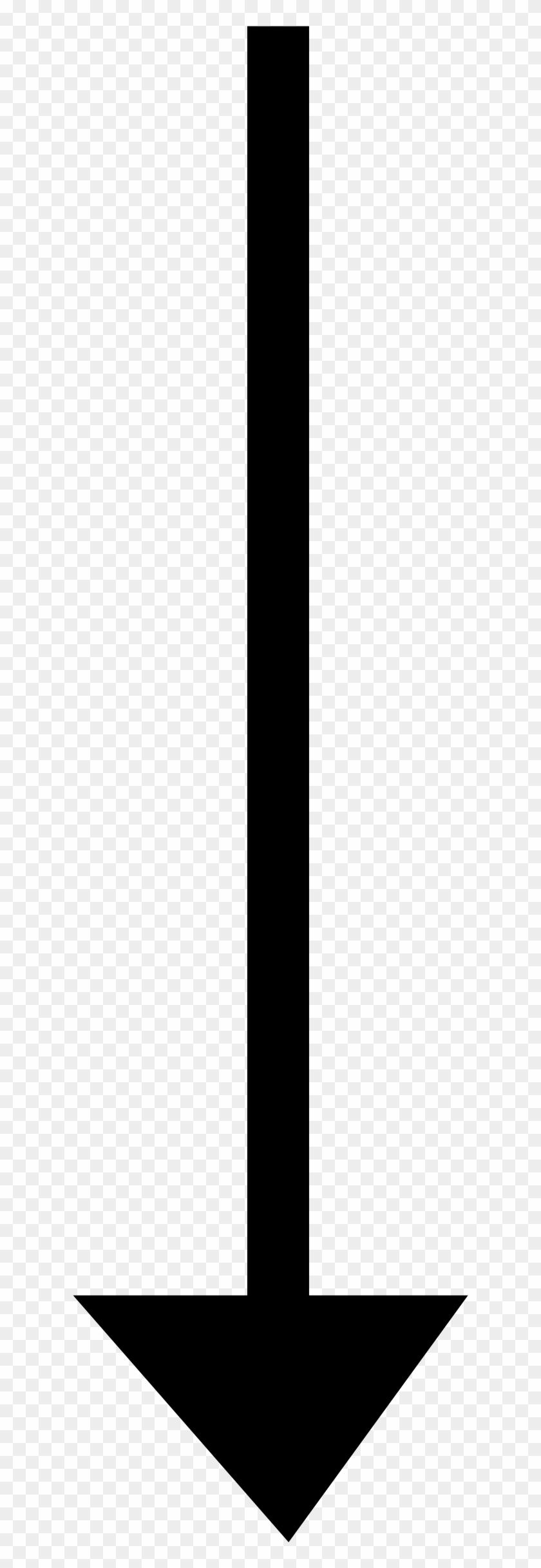 Down Arrow Clip Art - Simple Arrow Pointing Down #281332