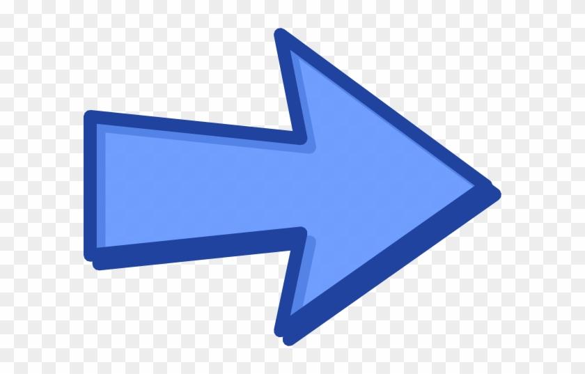 How To Set Use Blue Arrow Blue Svg Vector - Clip Art Blue Arrow #281338