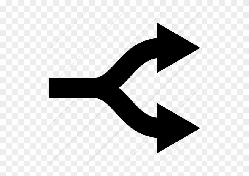 52-529053_graphics-for-split-arrow-clip-
