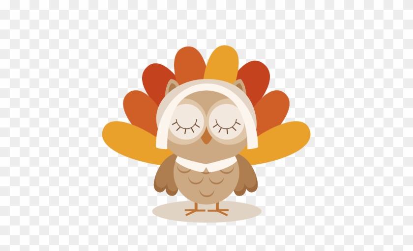Owl Thanksgiving Clipart - Owl Thanksgiving Clip Art #281614