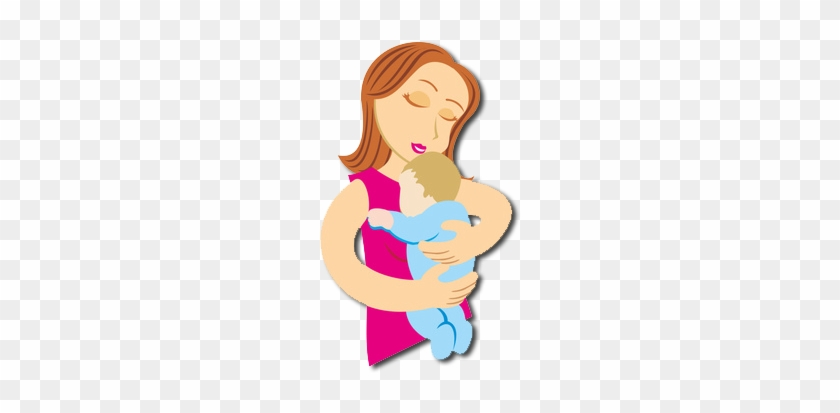 Mom Making Kid Eat Cartoon Mom And Baby Cartoon Png Free Transparent Png Clipart Images Download