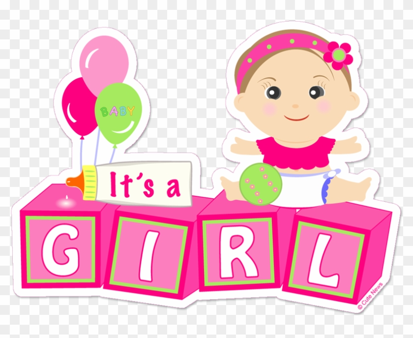 Baby Girl Png Photo - It's A Baby Girl Png #281941