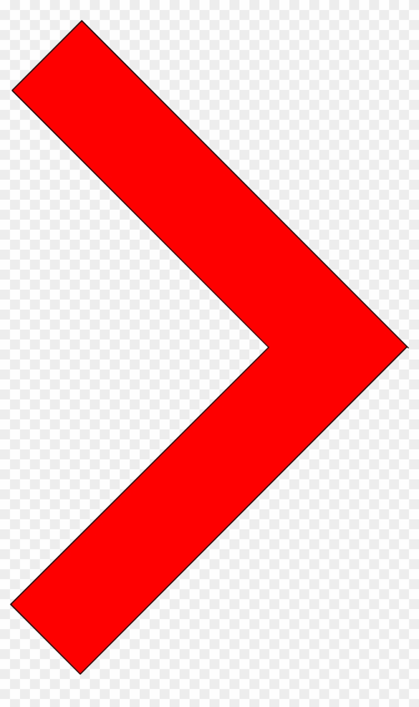 Small Arrow Clipart Image - Red Small Arrow Transperant #282054