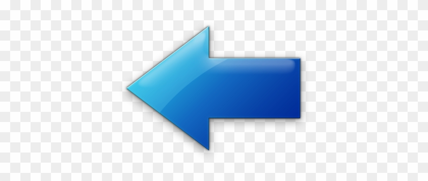 Blue Jelly Icons Arrows Icons Etc - Blue Left Arrow Icon #282056