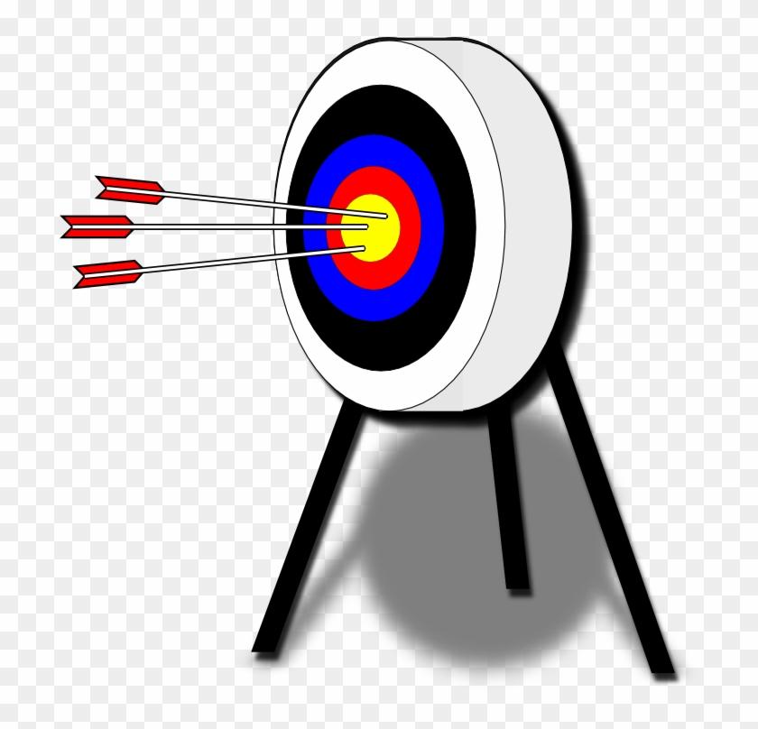 Clipart - Archery Target - Archery Target Clip Art #282451