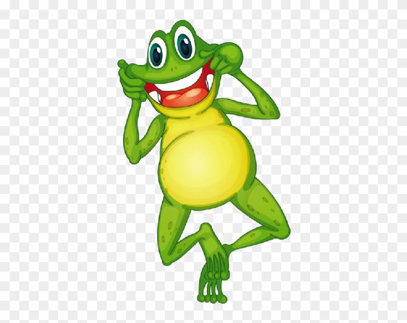 Funny Frog Cartoon Animal Clip Art Images - Crazy Frog Clip Art #282851
