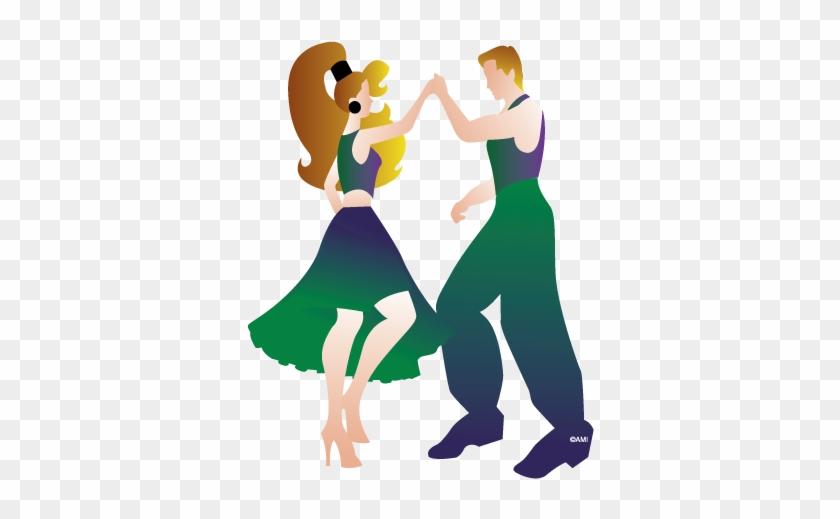 Salsa - Salsa Dance Cartoon Transparent #282915