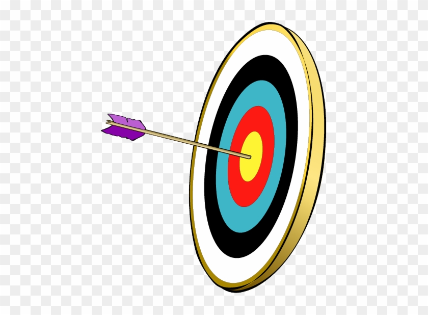An Arrow Hitting The Bullseye Of A Target - Goal #283036