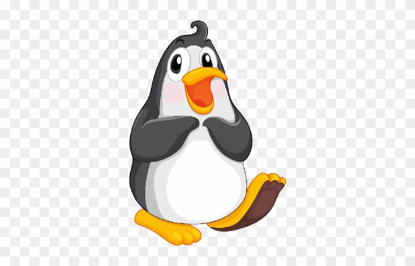 Baby Penguin Clipart Black And - Penguin Clip Art - Free Transparent PNG  Clipart Images Download