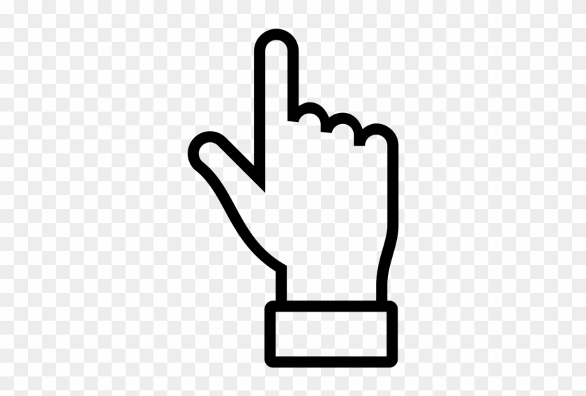 Hand, Finger, Pointing, Up, Sky, Thumb, Handsup Icon - Finger Pointing Free Icon #283170
