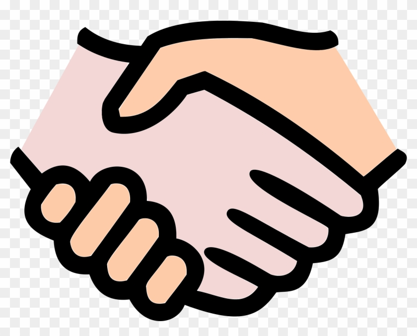 Handshake Clipart Free Hand Hands Handshake Free Vector - Hand Shake Icon -  Free Transparent PNG Clipart Images Download
