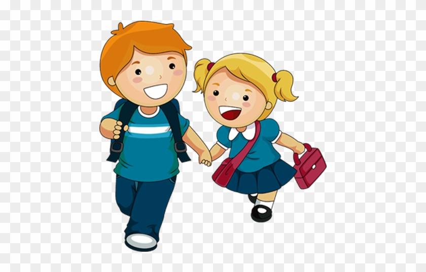 Rizvi Cbse - Student Go To School #283266
