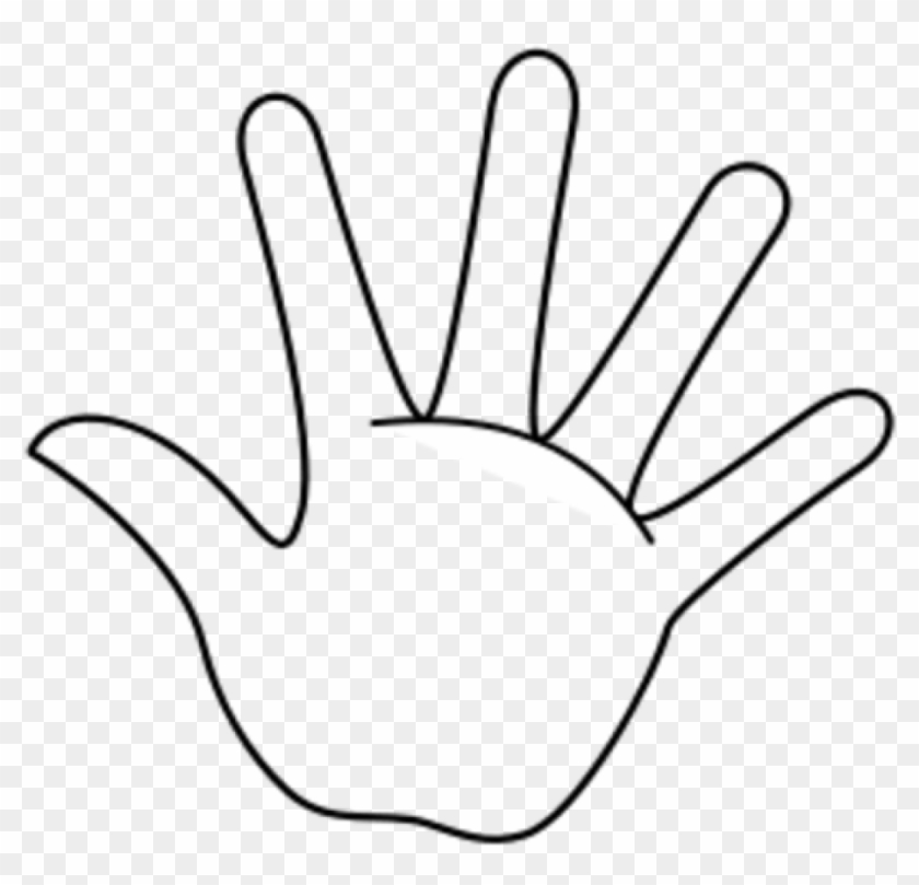 Handprint Outline Hand Outline Template Printable Clipart Hand Coloring Page Free Transparent Png Clipart Images Download Most relevant best selling latest uploads. handprint outline hand outline template