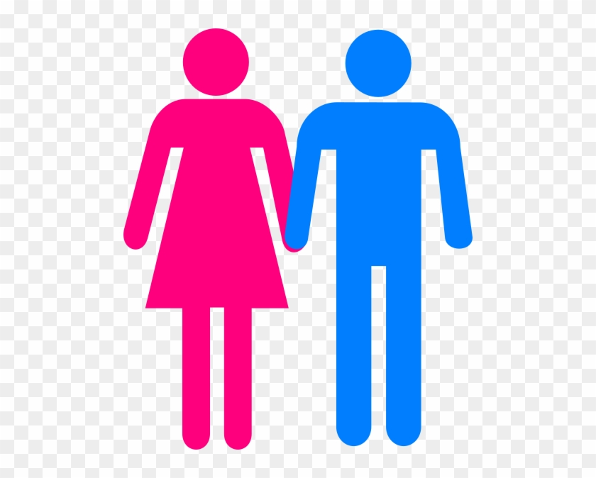 Boy And Girl Symbol Holding Hands Free Transparent Png Clipart