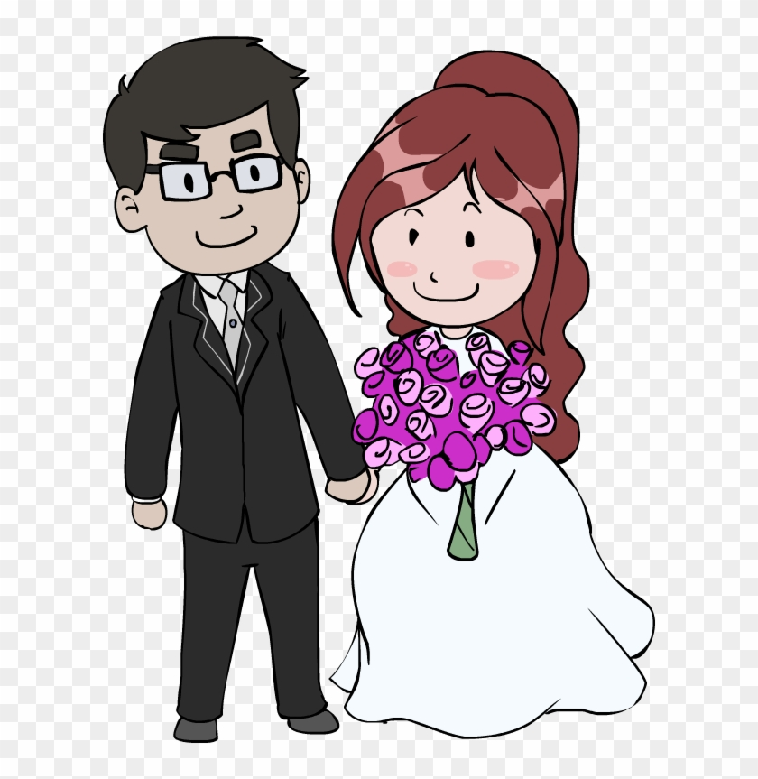 Cartoon Pictures Of Wedding Couples Wedding Couple Cartoon Png Free Transparent Png Clipart Images Download