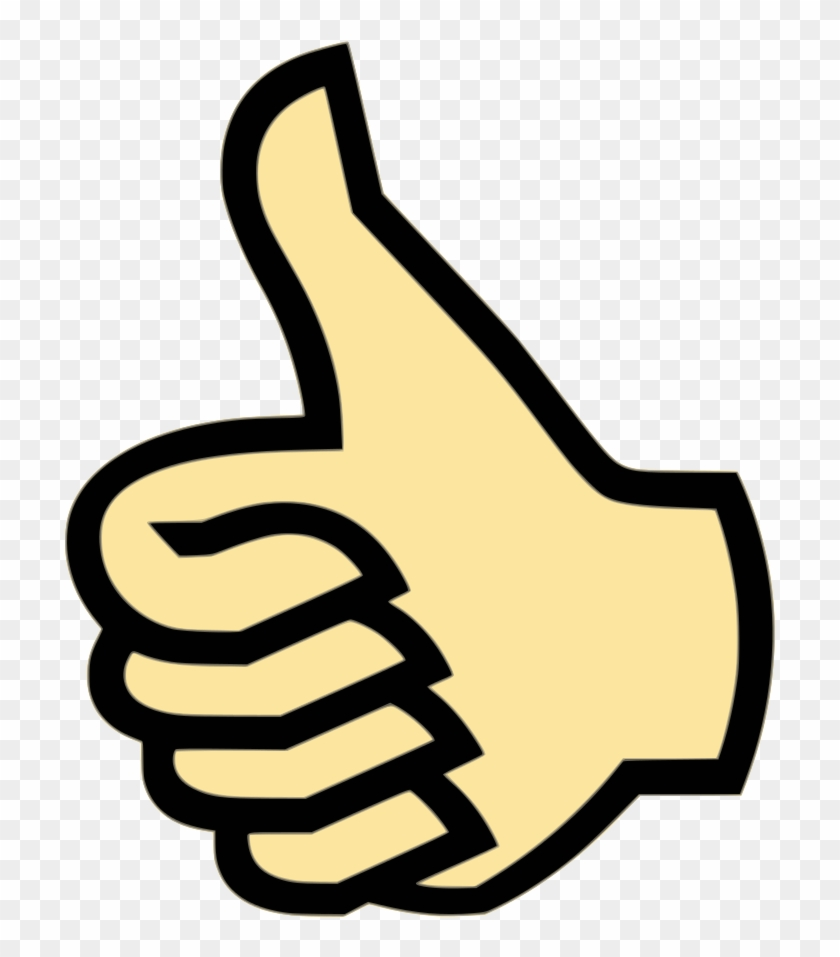 Clipart Thumbs Up Png - Thumbs Up Symbol #283585