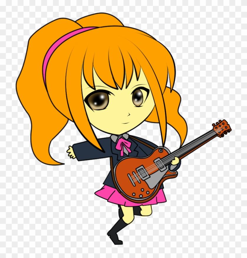 Manga Clipart Rock Star - Chibi Rock Star #283705