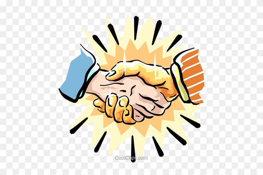 Pretty Two Hands Shaking Clipart La Poignée De Main - Different Greetings From Around The World #283771
