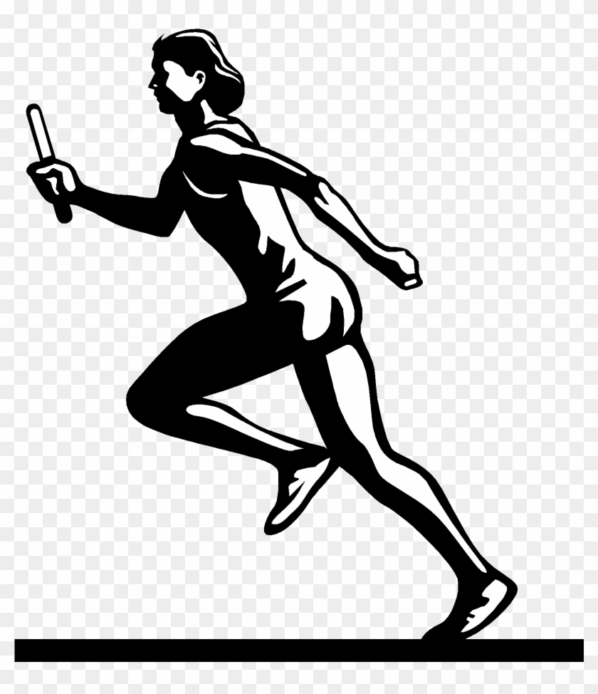 Symbol Clipart Track And Field - Track And Field Png #284011