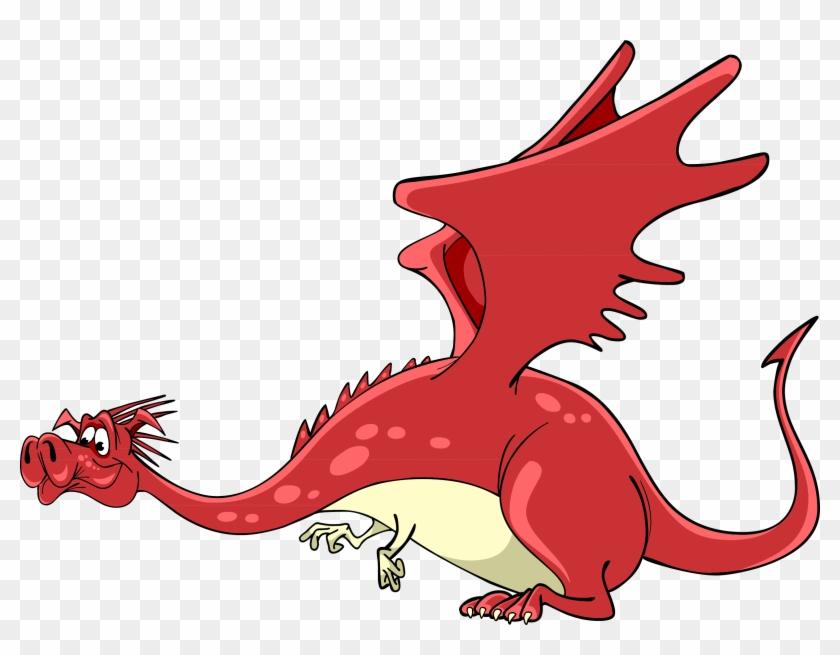 Dragon Cartoon Illustration - Dragon Png Cute #284068