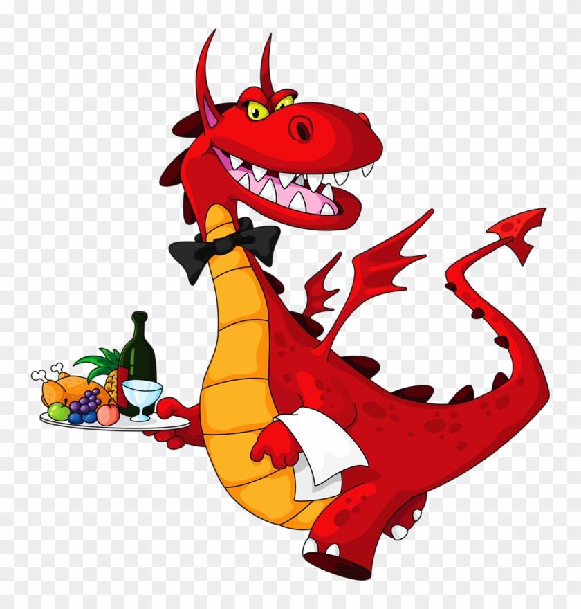 Soloveika Альбом «клипарт / Волшебники И Волшебные - Dragon Eating A Taco #284403