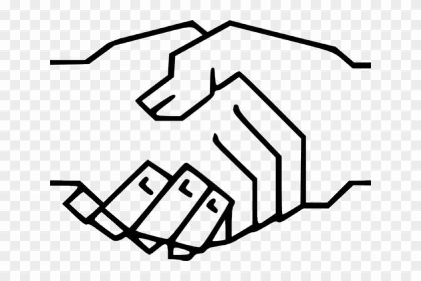Free Handshake Clipart - Handshake Clipart #284464