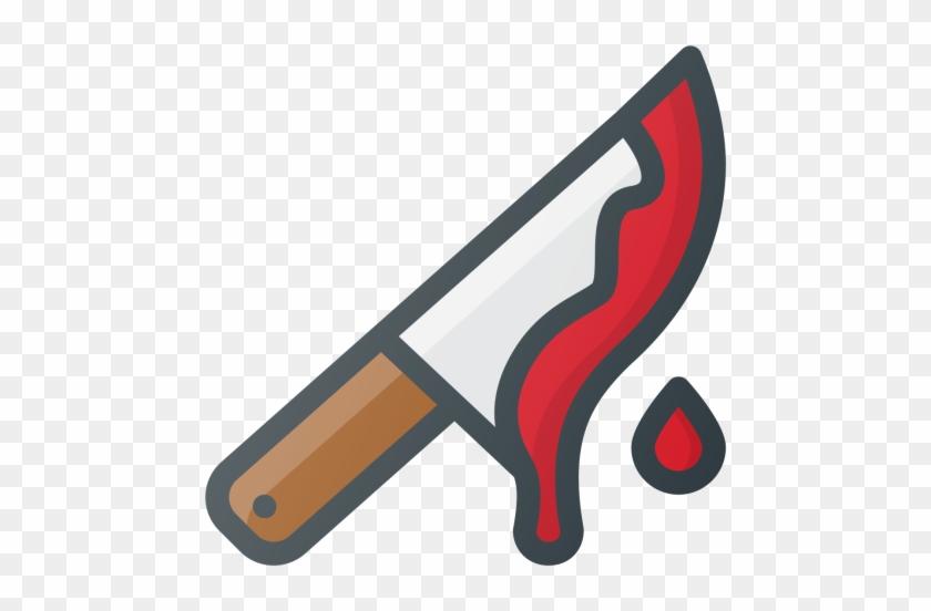Knife, Blood, Blody, Kill, Halloween Icon - Knife Blood