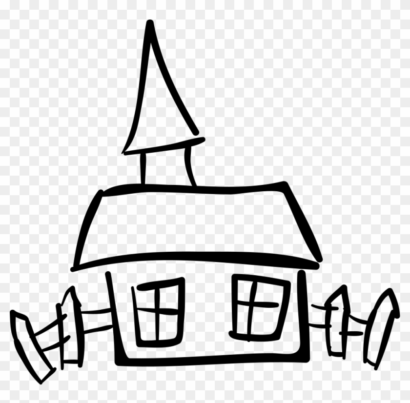House Hand Drawn Building Comments - House Hand Drawn Png #284669