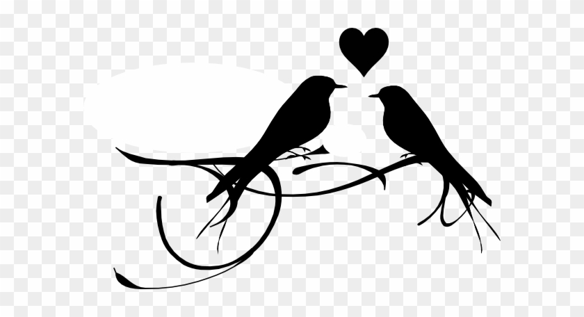 Free Love Birds Black And White Clip Art Lovebirds Clip Art Black White Free Transparent Png Clipart Images Download