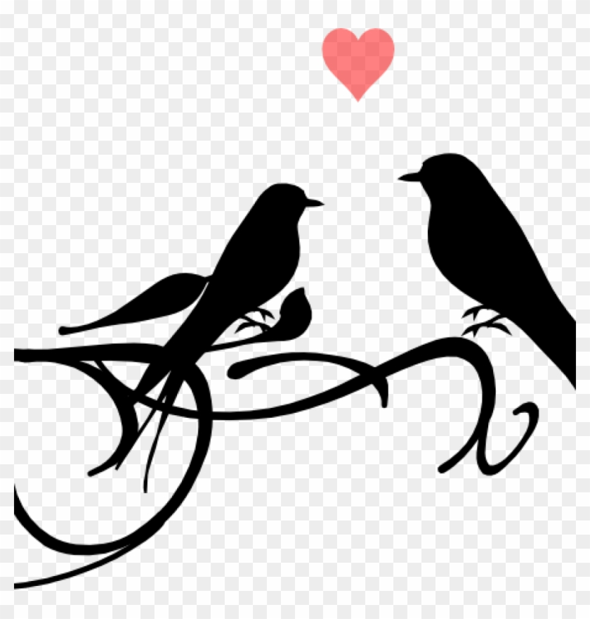 Love Birds Clipart Love Birds Clip Art At Clker Vector Wedding