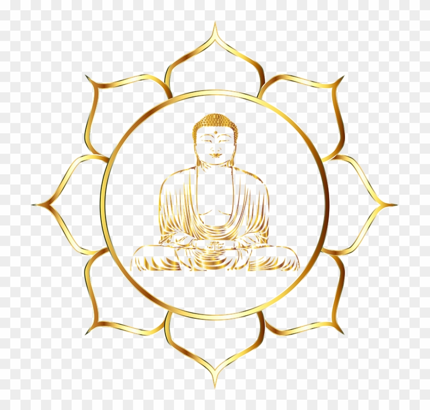Lotus Flower Outline 9 Buy Clip Art Buddhist Values And Morals