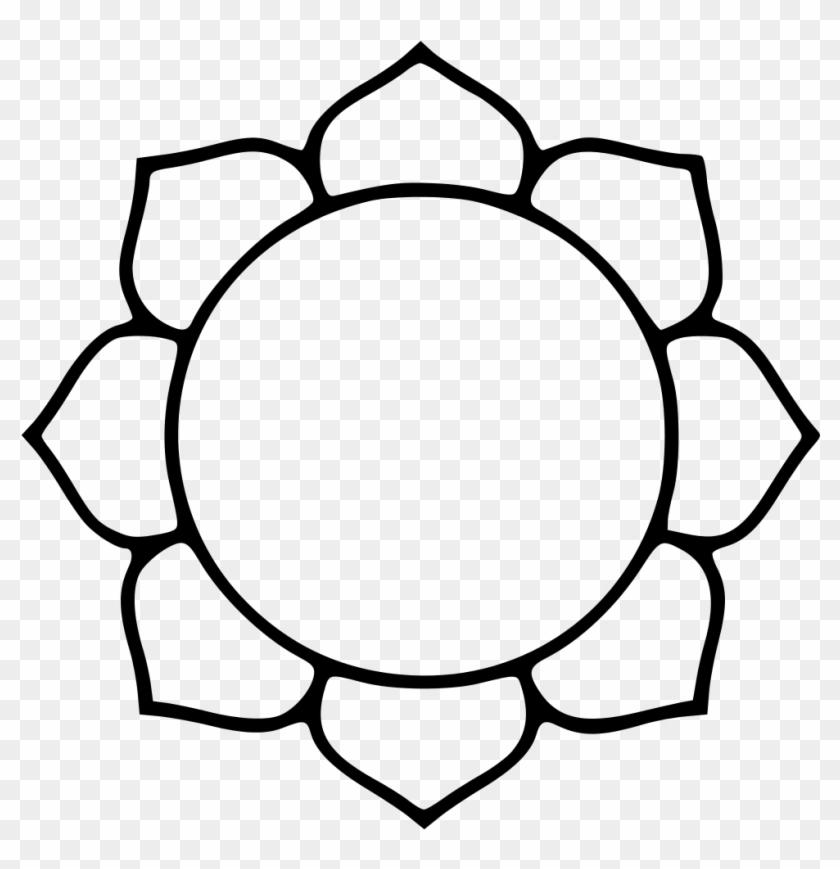 File - Lotusoutline - Svg - Wikipedia, The Free Encyclopedia