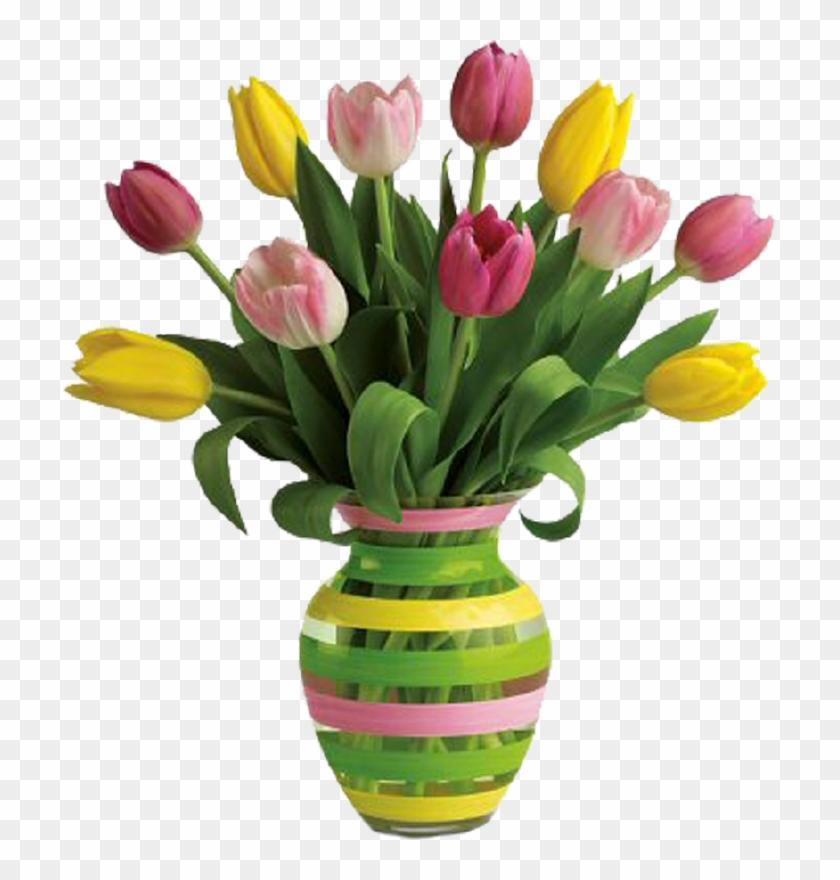 Clipart Flower In Vase - Happy Birthday To My Best Friend #285511