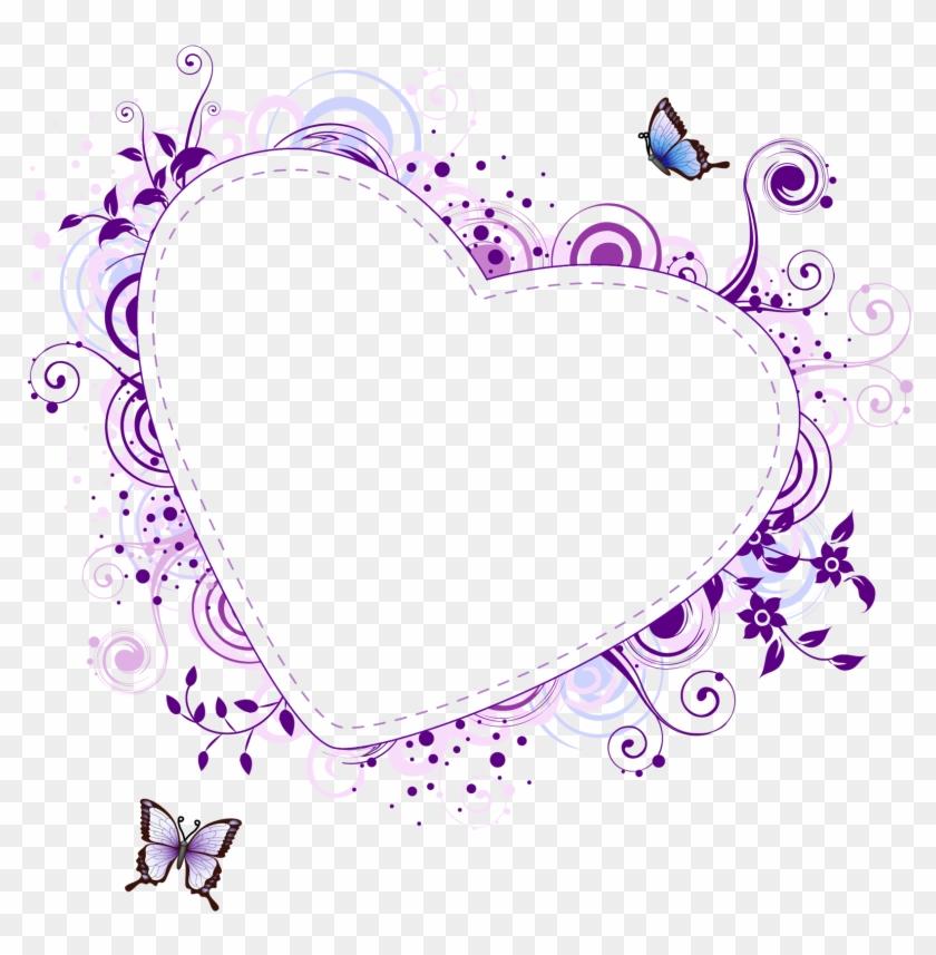 Hearts Clipart Heart Frame - Heart Frame Vector Png #285555