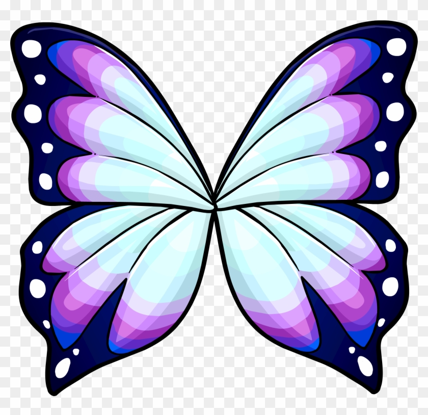 Butterfly Wings - Butterfly Wing Drawing Color #285776