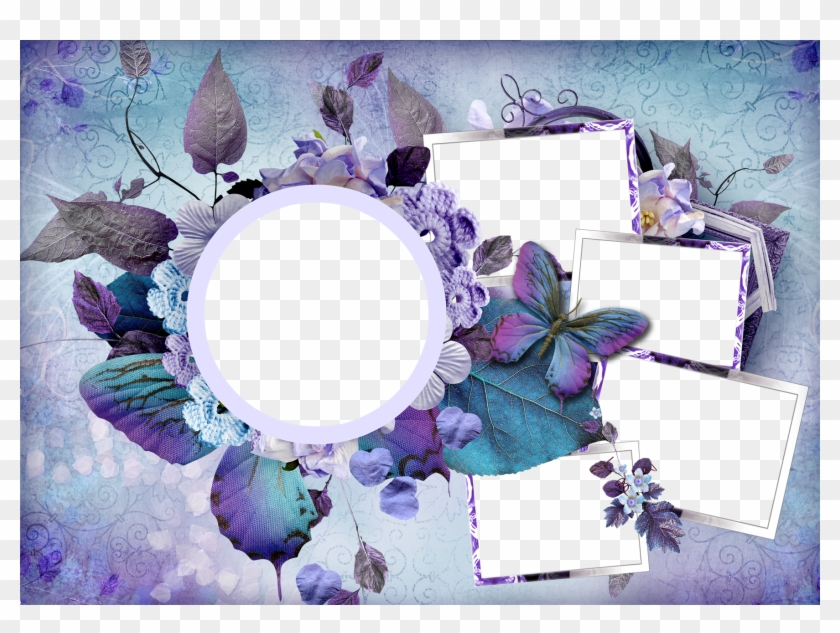 Flower Frame Png - Best Flower Photo Frame #285923