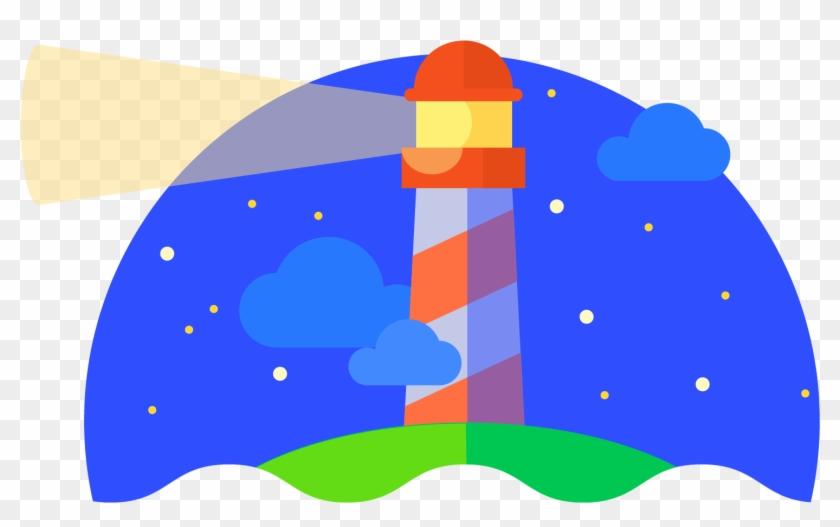 Lighthouse Clipart Building A - Google Lighthouse Logo #286124