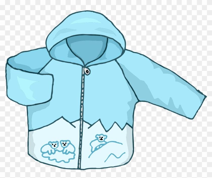 Hood Clipart Jacket - Winter Coat Clipart Png #286250