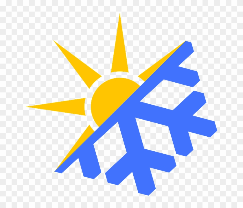 Cold, Crhistmas, Forecast, Freeze, Freezer, Ice, Meteorology, - A C Heat Symbol #286261