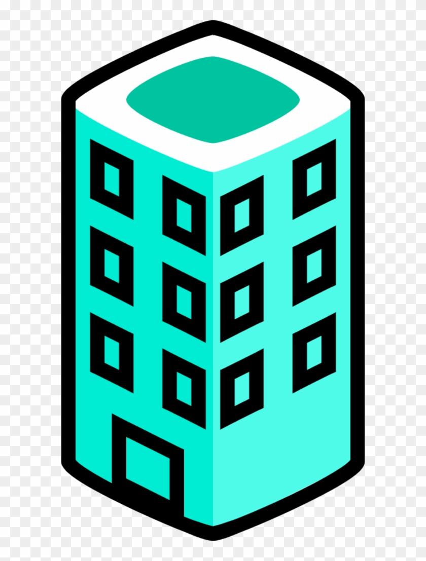 Vector Clip Art - Office Building Clip Art #286274