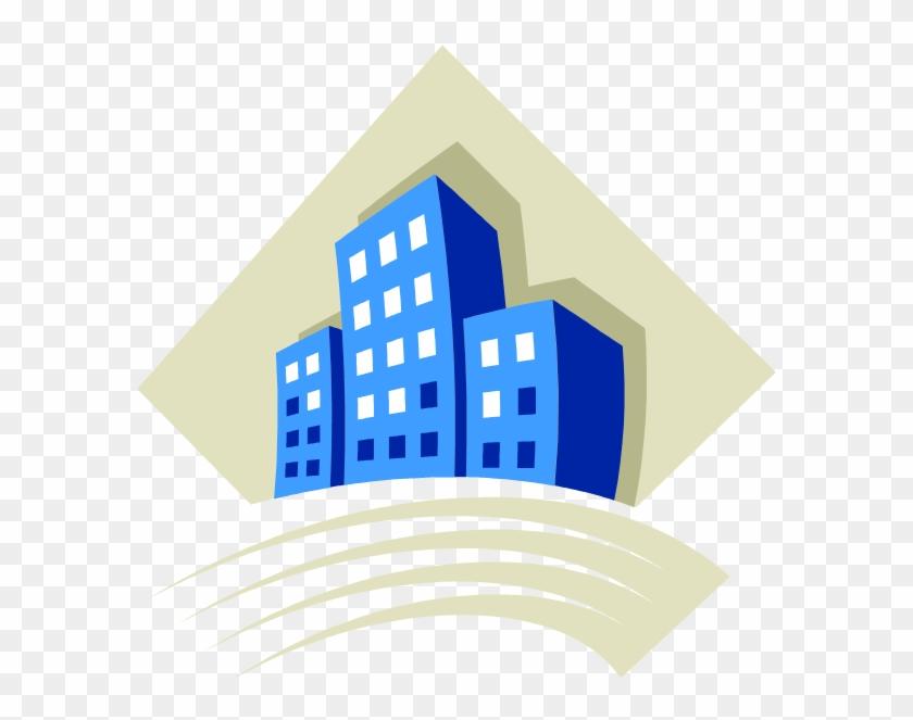 Corporate Building Clipart - Logo Amministratore Di Condominio #286288