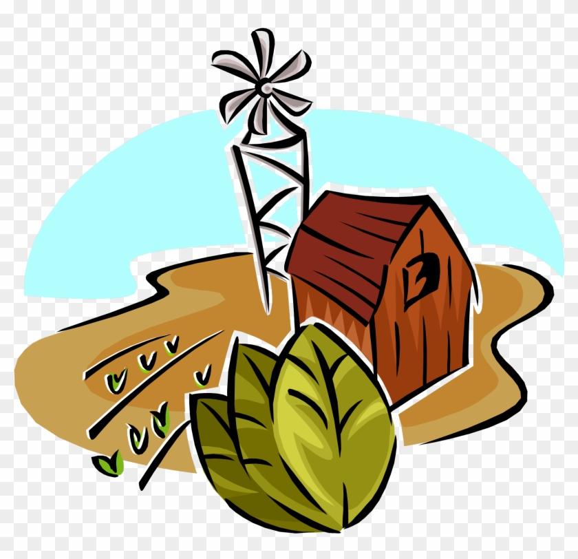 Buildings - Natural Resources Clip Art #286351