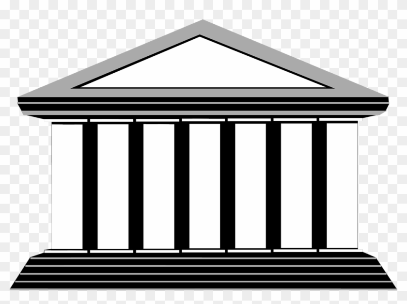 Free Stock Photos - Building With Columns Illustration #286652