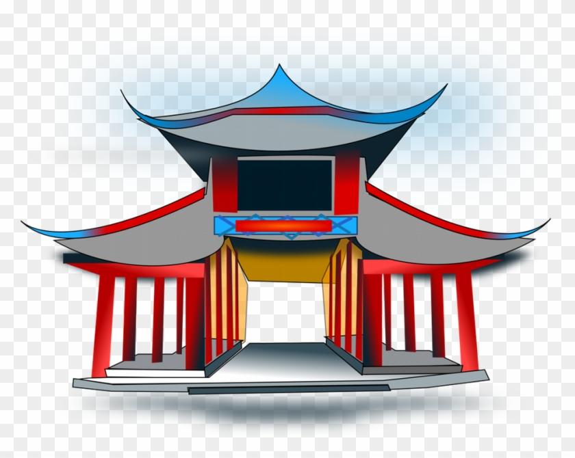 Clipart Vector European House - Letras Kung Fu Panda #286663