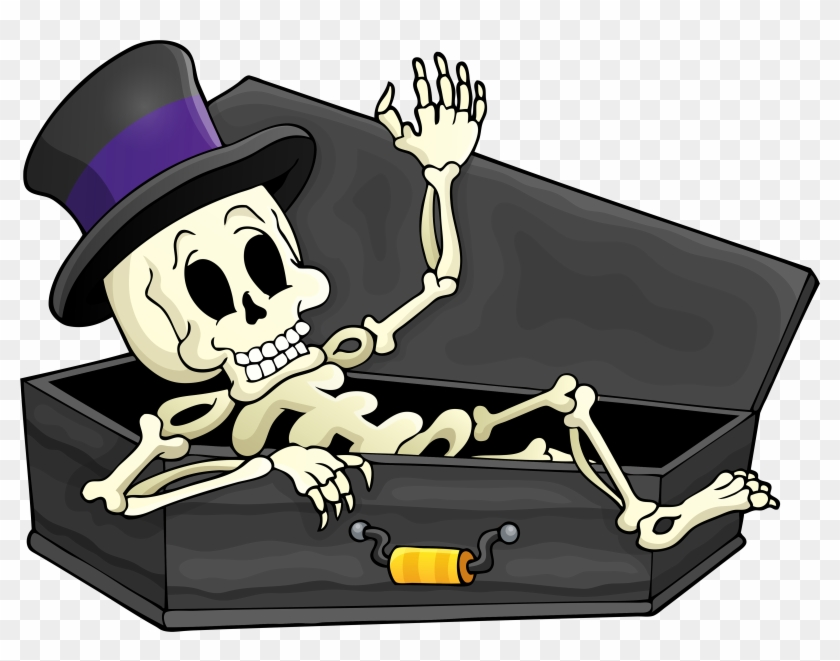 Download Fullsize - Skeleton Halloween Png #286694
