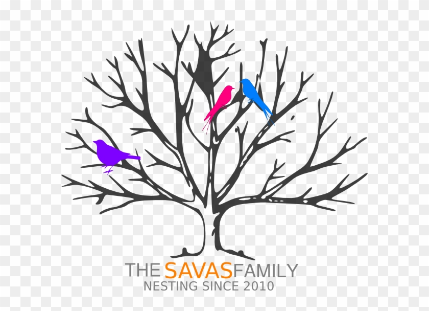 Clip Art - Tree Without Leaves Coloring Page #286920