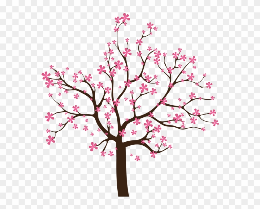 Spring Tree, Art Images, Clip Art, Oriental, Cherry - Spring Tree Clipart #287175